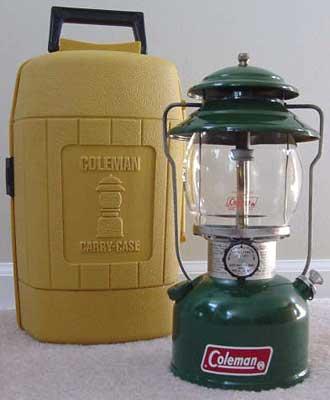 Coleman US lanterns 1981 – 2000 – The Terrence Marsh Lantern