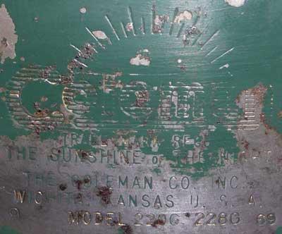 coleman220fg969bottomstampingkuiper