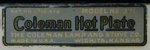 colemanhotplate371-1937decalwhitten